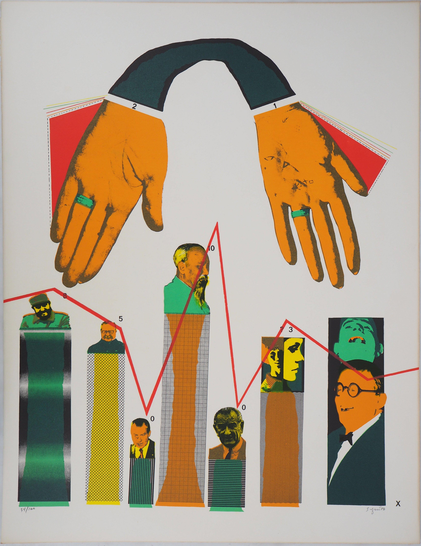 Without Demagogy - Original Handsigned Lithograph, 1972