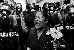 Antonio Turok, Protest of Peace, digital ink print war photography framed art