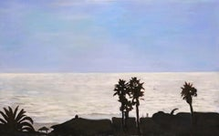 North Pacific  water, blue sky 38 X 72