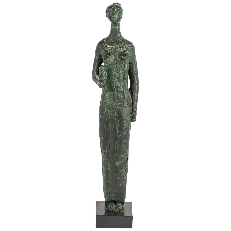 Antoniucci Volti, Athena Sculpture, France, circa 1970