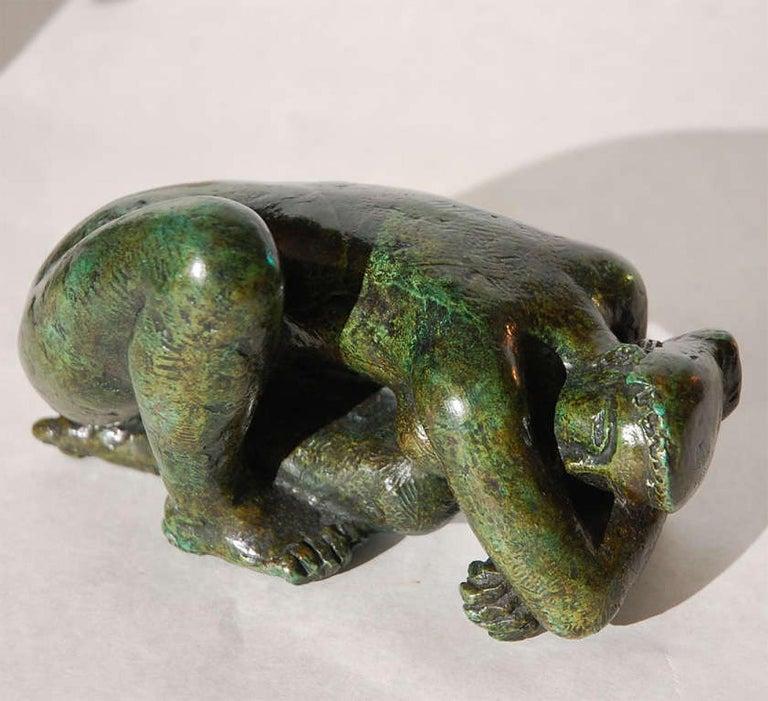 Modern Antoniucci Volti, Sculpture in Bronze, 1970 For Sale