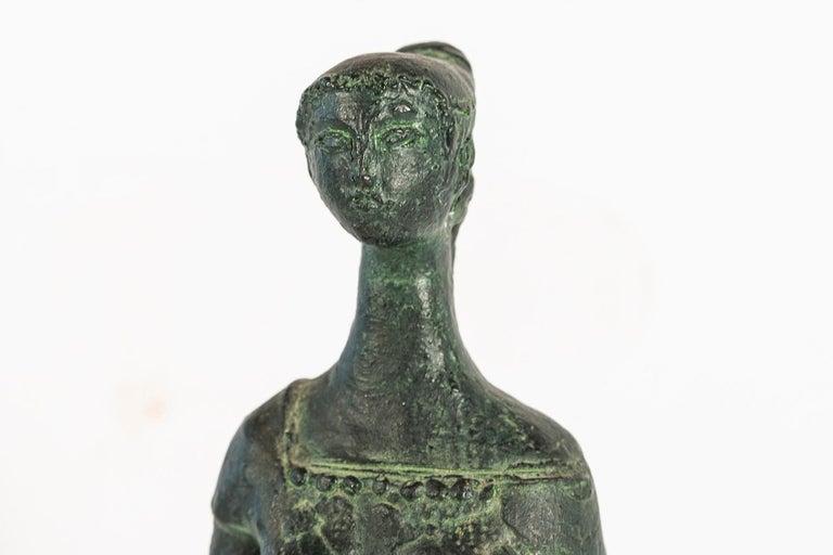 Antoniucci Volti '1915-1989', Athena Sculpture, France, circa 1970 For Sale 2
