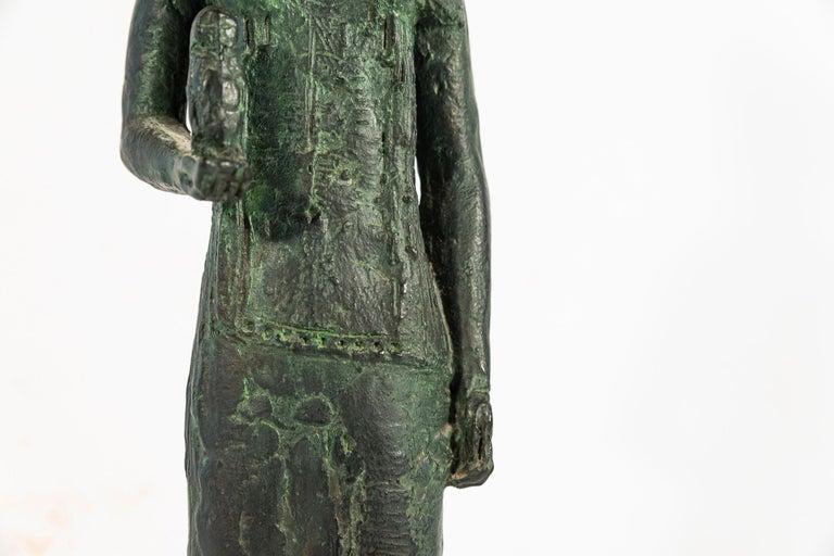 Antoniucci Volti '1915-1989', Athena Sculpture, France, circa 1970 For Sale 5
