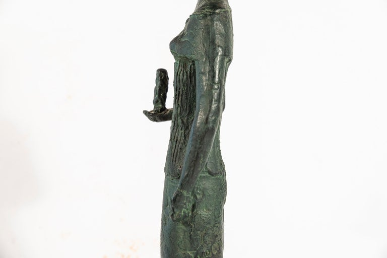 Antoniucci Volti '1915-1989', Athena Sculpture, France, circa 1970 For Sale 6