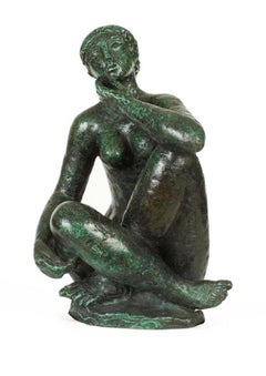 Goudina, Bronze, Female Figurative, Sculpture