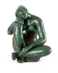 Yvonne, Bronze, Female Figure, Sculpture