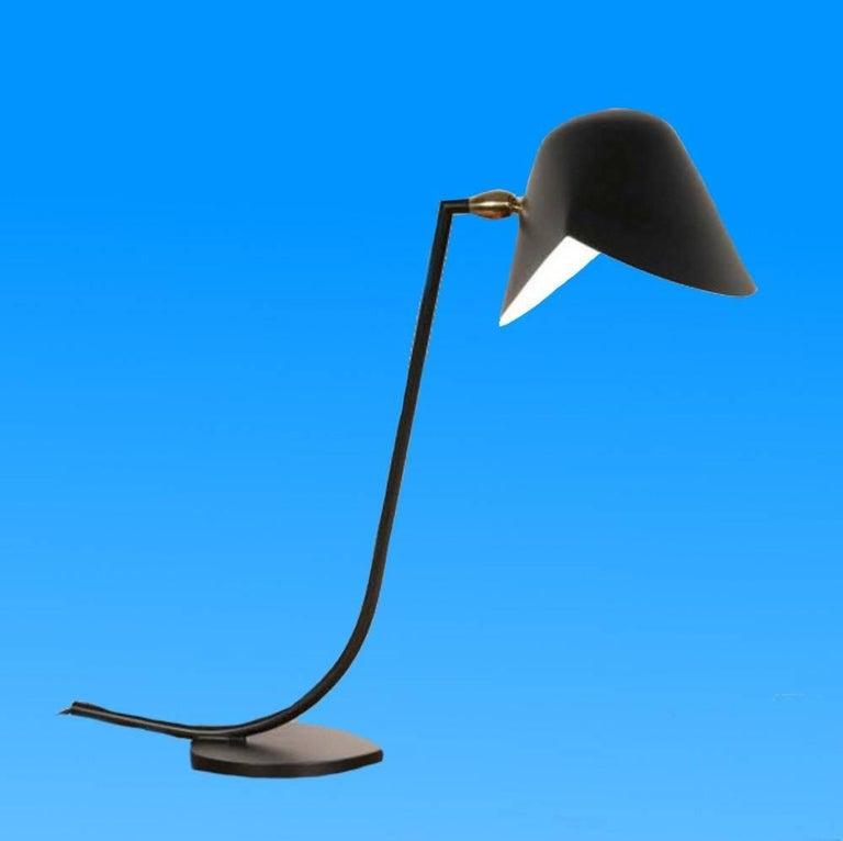 Mid-Century Modern Antony Desk Lamp by Serge Mouille For Sale