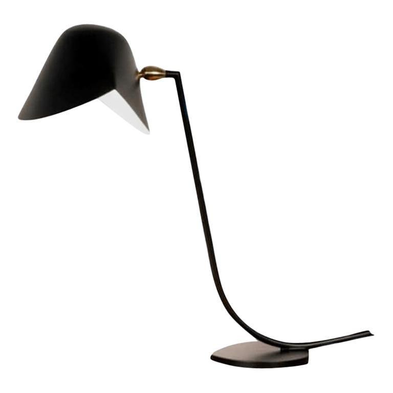 Antony Desk Lamp by Serge Mouille For Sale