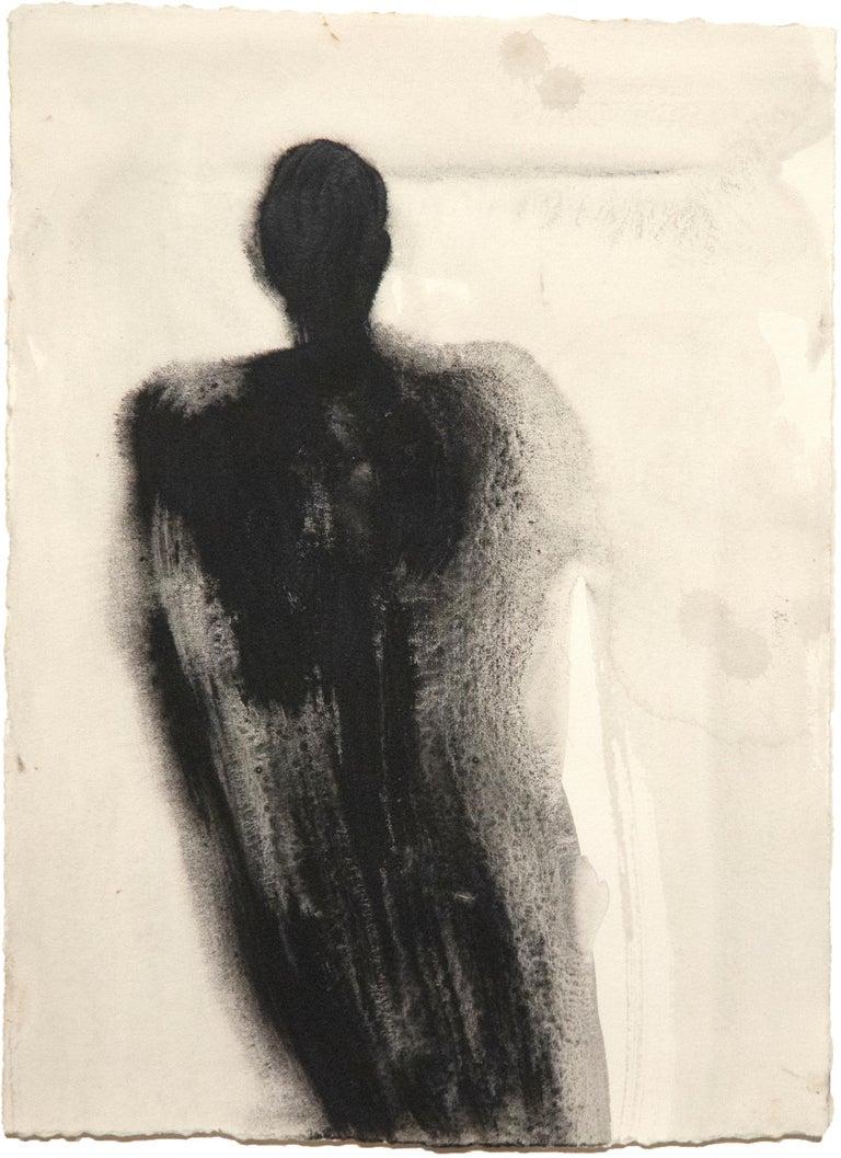Antony Gormley Figurative Painting - Zones of Attachment