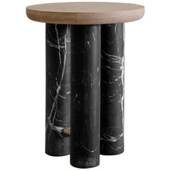 Antropología 01, Sculptural Stool and Side Table