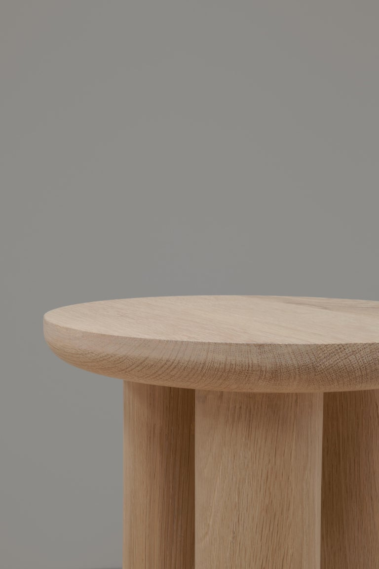 Mexican Antropología 02, Sculptural Stool and Side Table For Sale