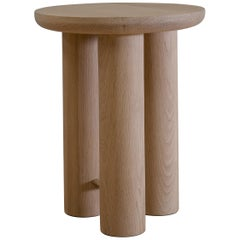Antropología 02, Sculptural Stool and Side Table