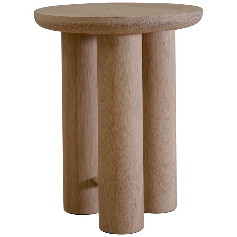 Antropología 02, Sculptural Stool and Side Table For Sale