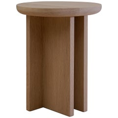 Antropología 03, Sculptural Stool and Side Table