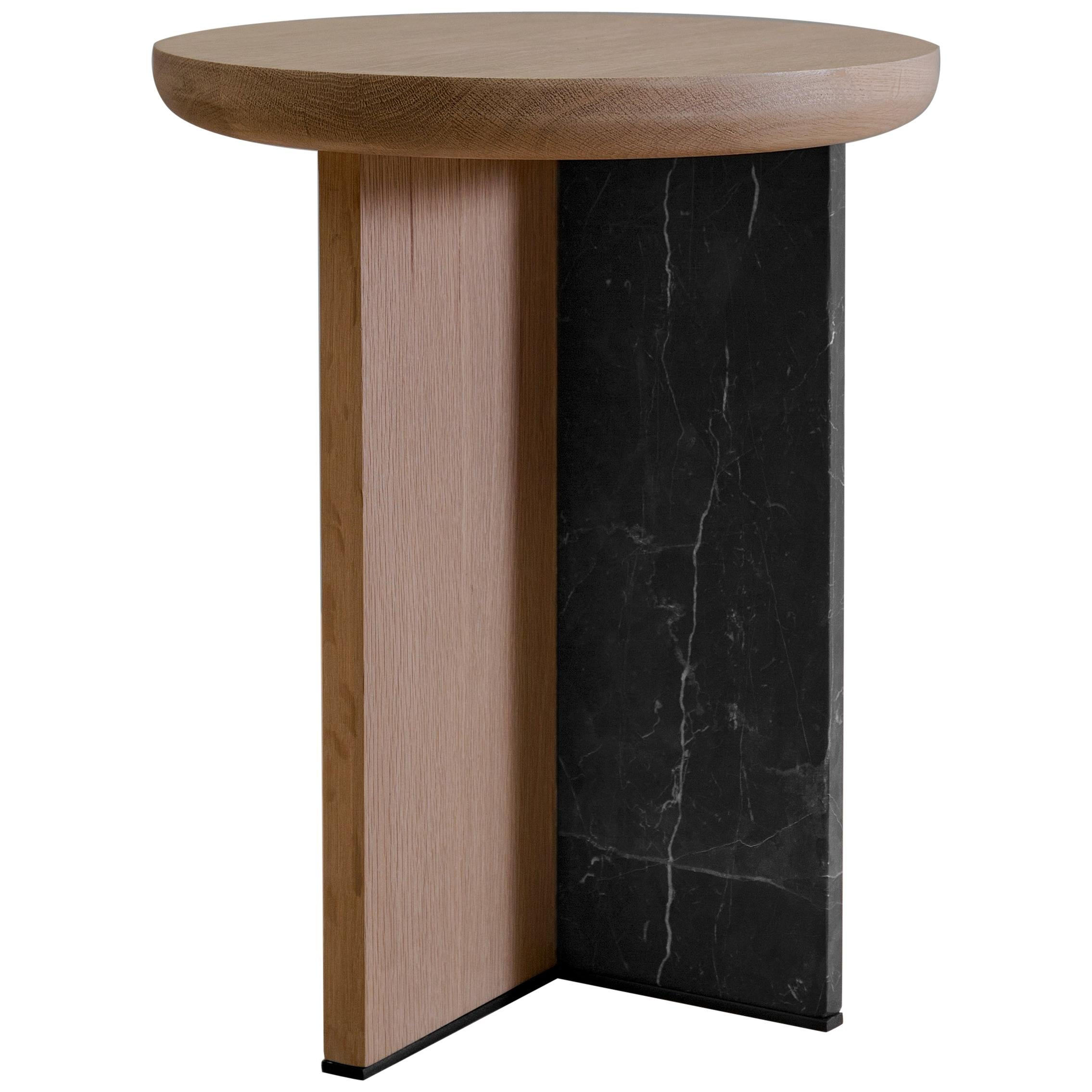Antropología 04, Sculptural Stool and Side Table