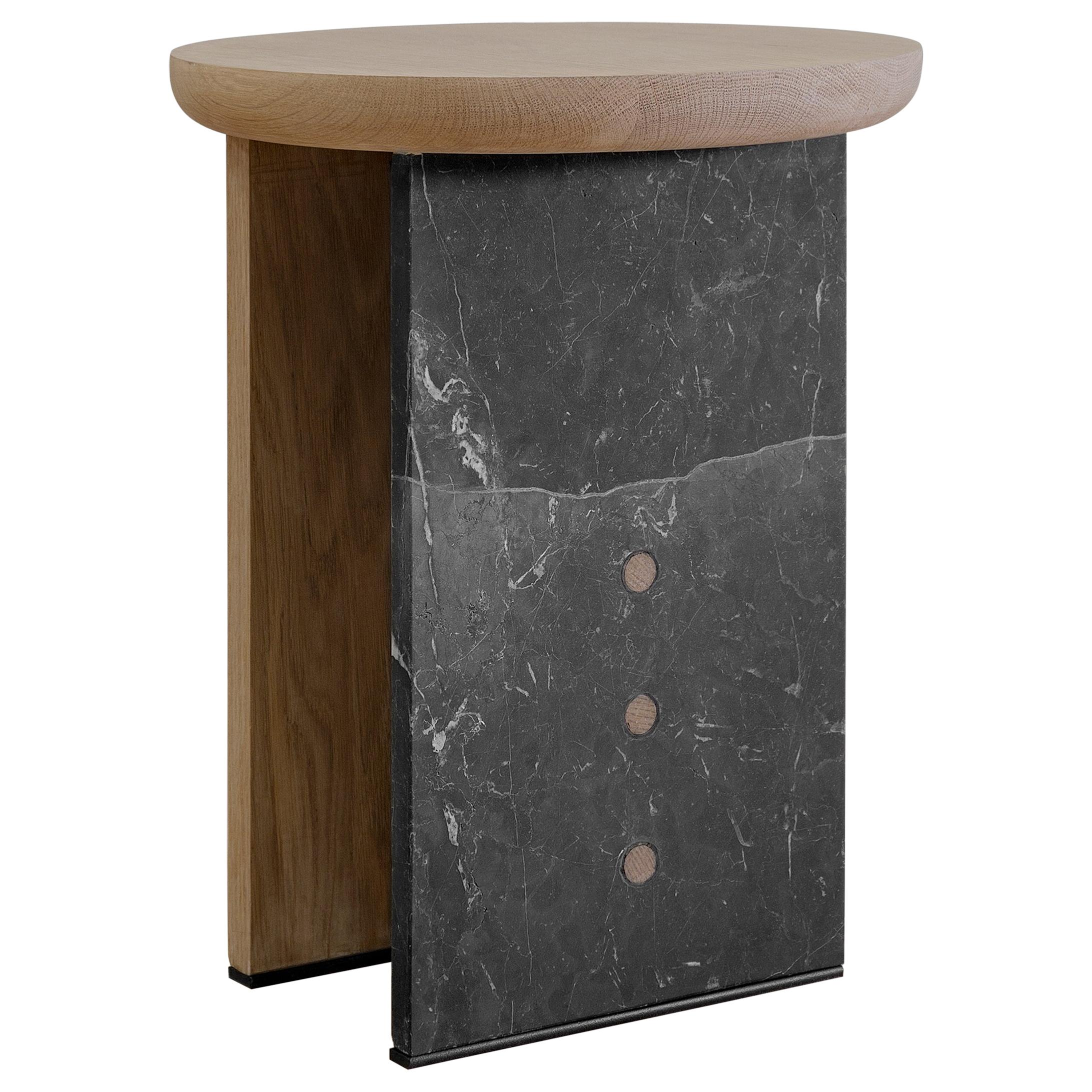 Antropología 05, Sculptural Stool and Side Table