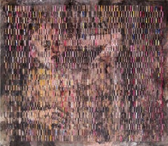 """Mixed Media on Woven Fabriano Painting """"Nkcubeko"""""""