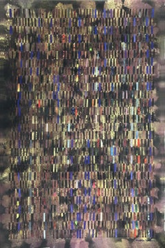 """Mixed Media on Woven Fabriano Painting """"The Soil"""""""