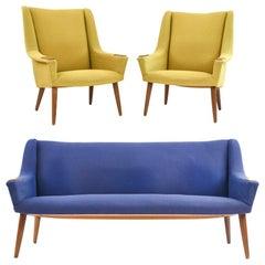 Anva Moebler Danish Sofa Suite