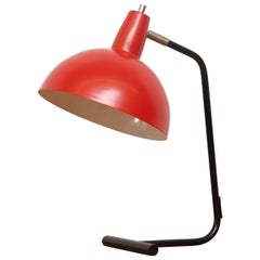 Anvia 'the Director' Table Lamp in Red