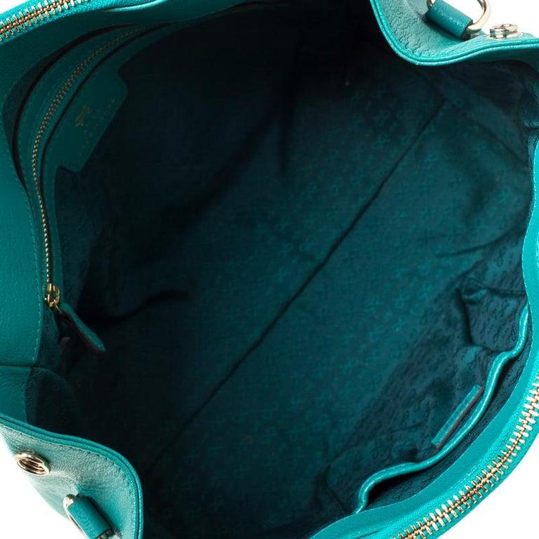 Anya Hindmarch Green Leather Ebury Soft Tote 3