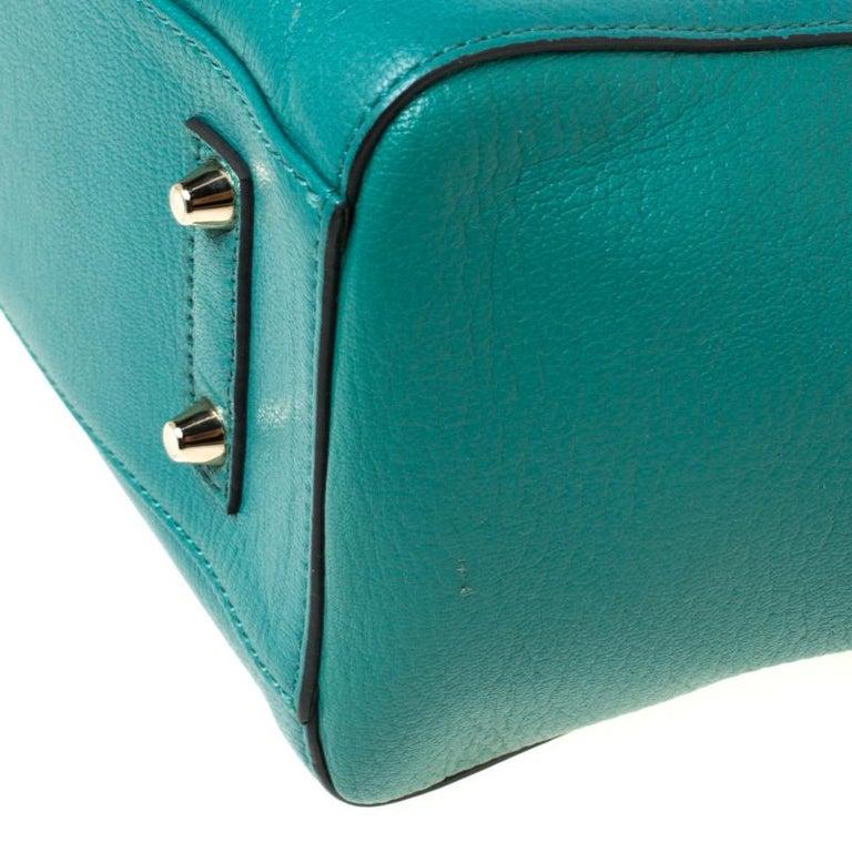 Anya Hindmarch Green Leather Ebury Soft Tote 5
