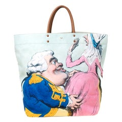 Anya Hindmarch Multicolor Graphic Print Tote