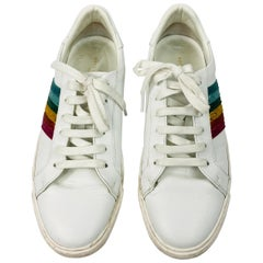 Anya Hindmarch White Leather Sneakers Size 39