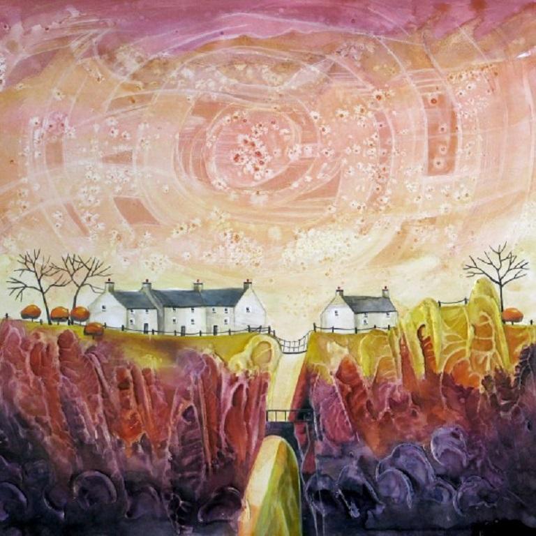 Anya Simmons, Bridge End Farm, Affordable limited edition print