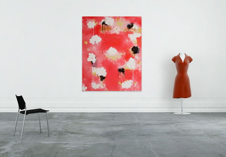 Candy (Abstract painting) - Painting by Anya Spielman