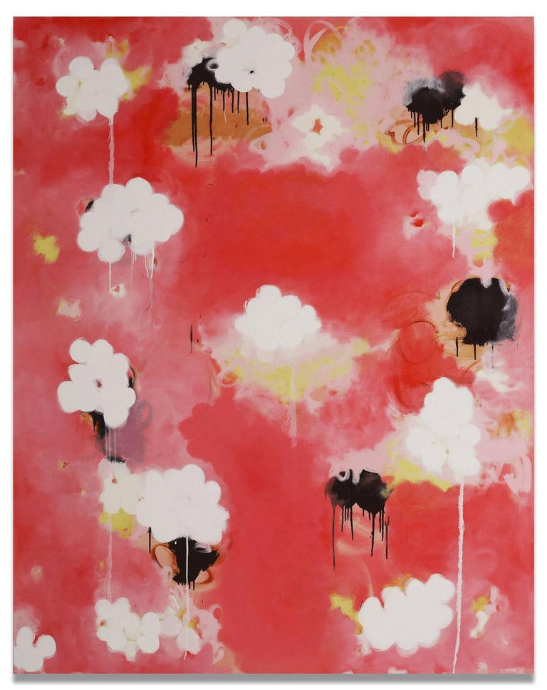 Anya Spielman Abstract Painting - Candy (Abstract painting)