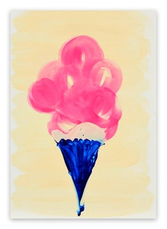 Candy Cone (Abstract painting)