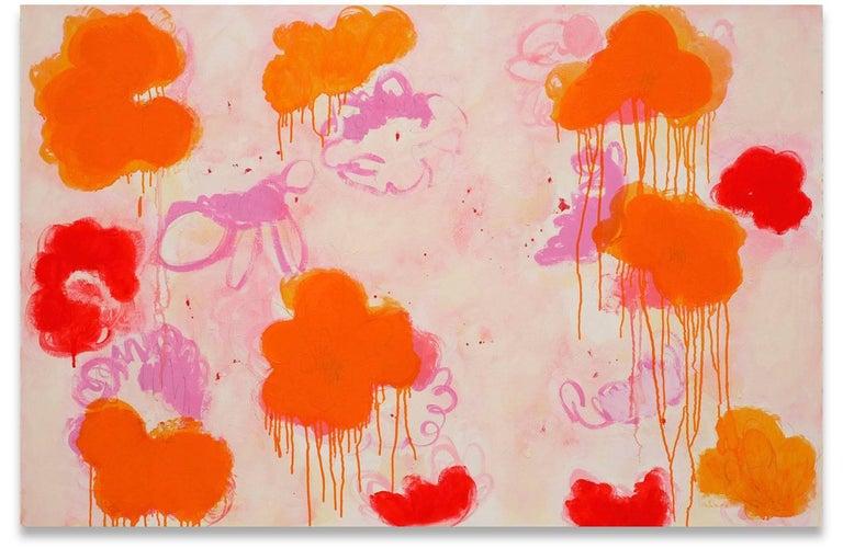Anya Spielman Abstract Drawing - Effloresce
