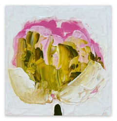 Green, Gold, Pink (Abstract painting)
