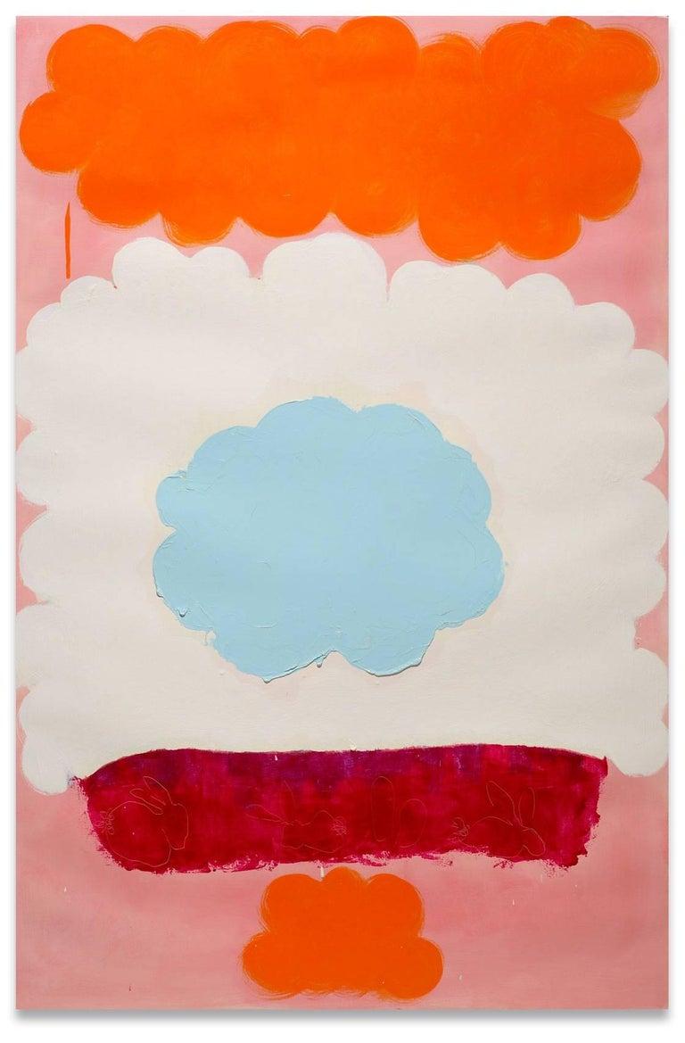 Anya Spielman Abstract Drawing - Lapin