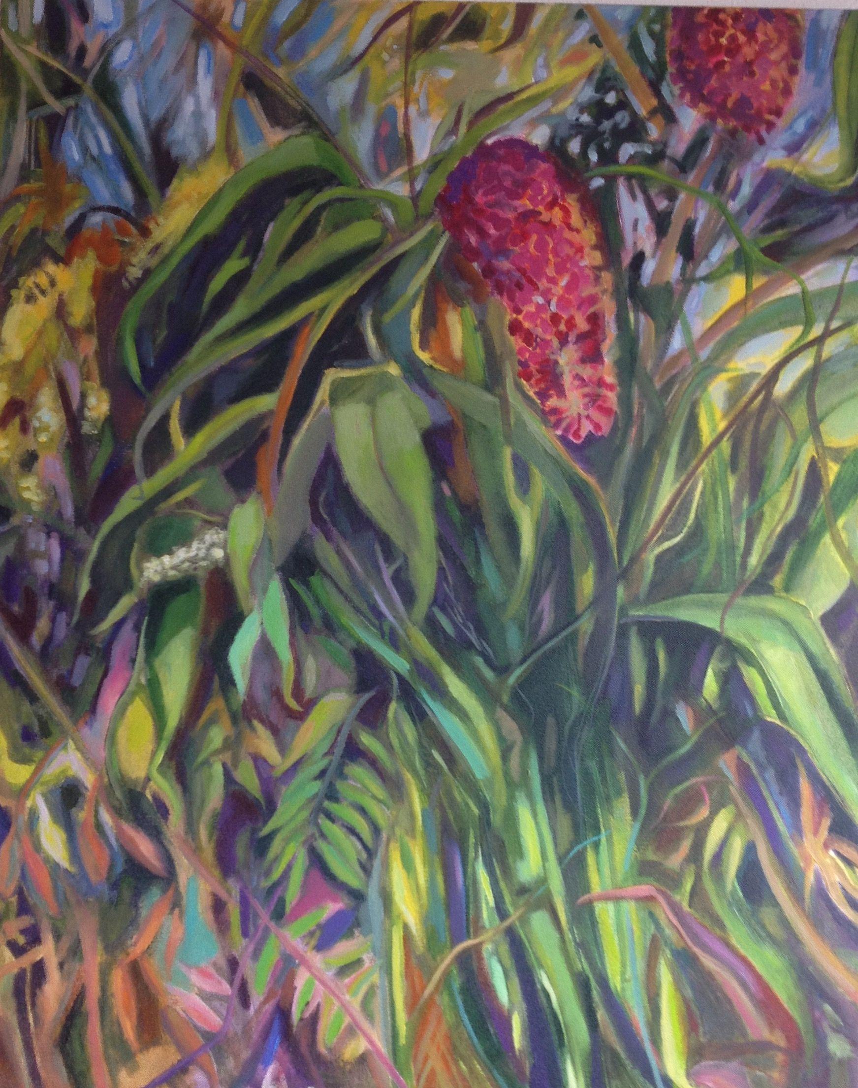 Lush, Painting, Acrylic on Canvas