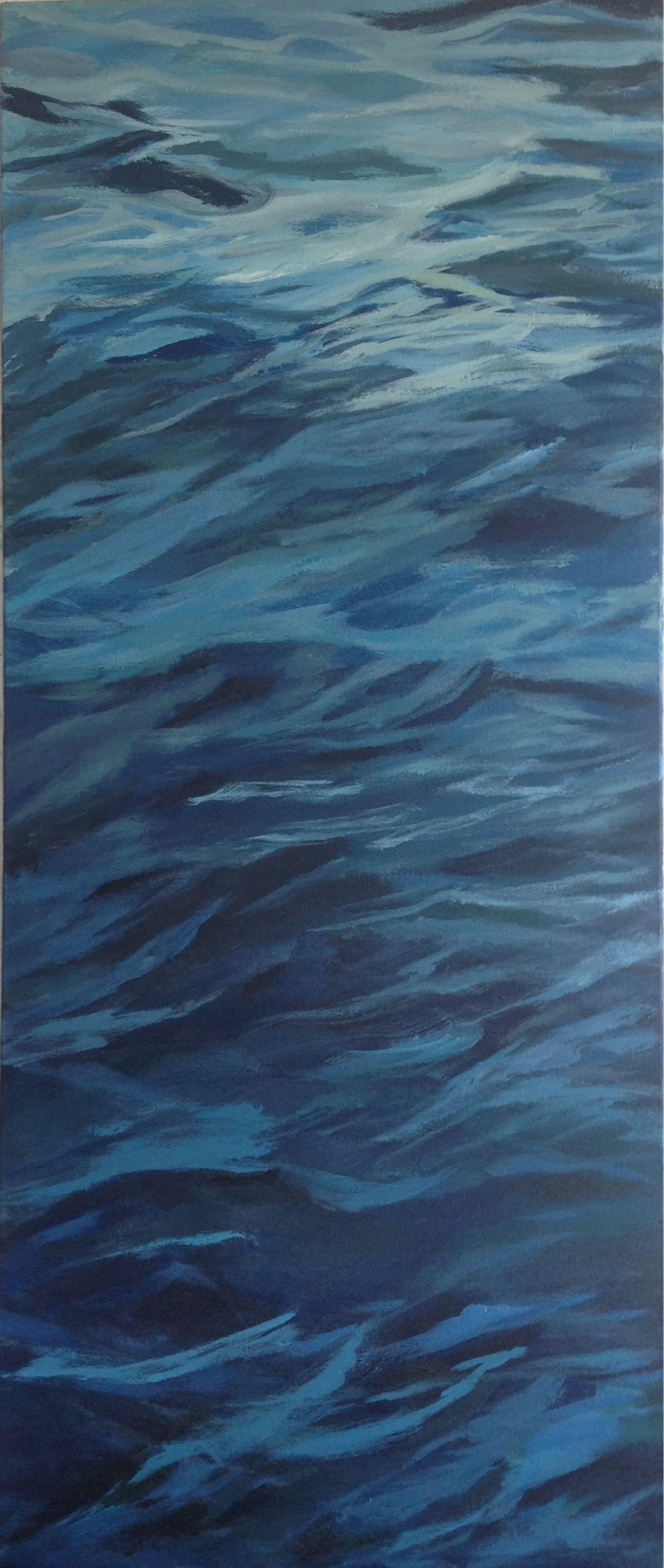 Sea, Painting, Acrylic on Canvas
