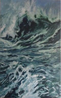 Seascape I, Painting, Acrylic on Canvas
