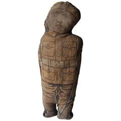 ANZAC WW1 Straw Rag Doll of a Soldier