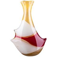 Anzolo Fuga for AVeM 'Arte Vetreria Muranese' Murano Vintage Blown Glass Vase