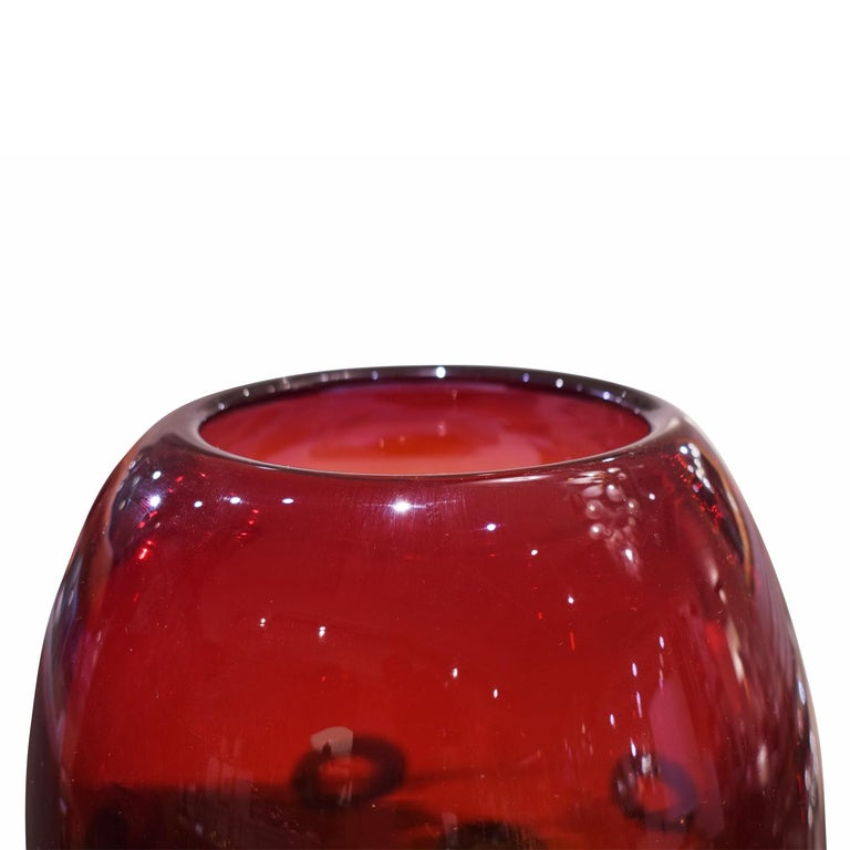 Hand-Crafted Anzolo Fuga Hand Blown