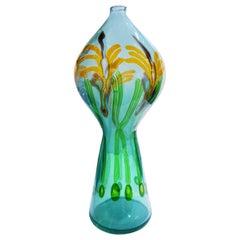 """Anzolo Fuga Masterwork Large """"Pavone"""" Vase 1957-1960"""