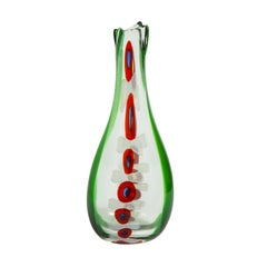 """Anzolo Fuga """"Murrine Incatente"""" Vase, ca 1959"""
