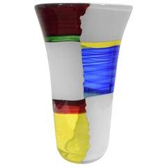"Anzolo Fuga Rare ""Bandiere Vase"", 1955-1956"