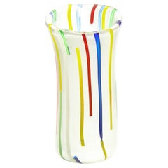 Anzolo Fuga Vase with Vertical Rods, 1955-56