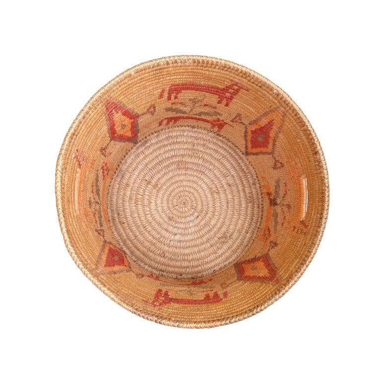American Apache Jicarilla Apache Basket For Sale