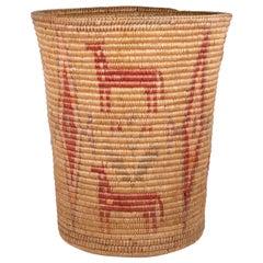 Apache Jicarilla Apache Basket