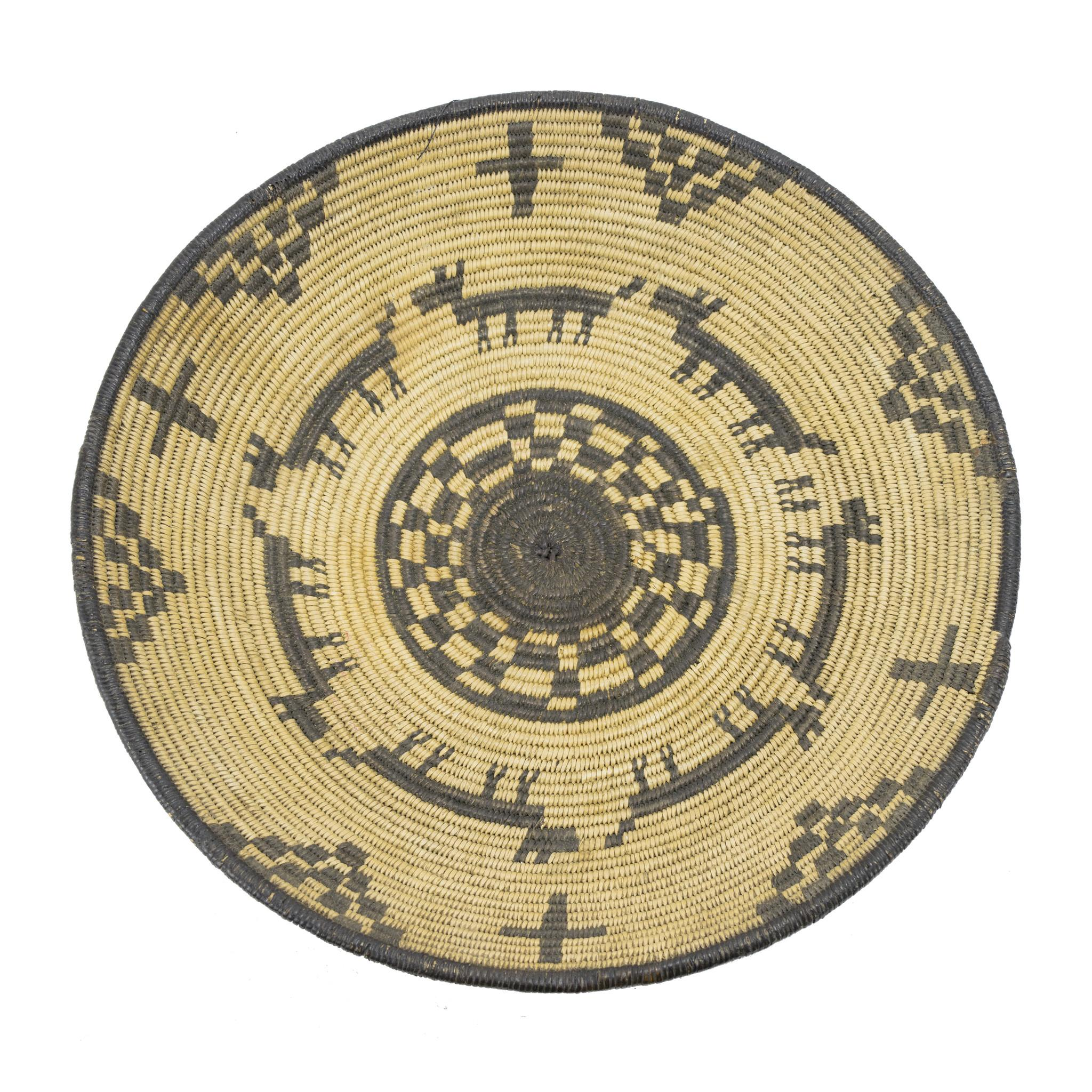 19th Century Native Apache Pictorial Tray
