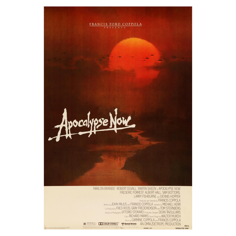 'Apocalypse Now' Original Vintage US One Sheet Movie Poster, 1979