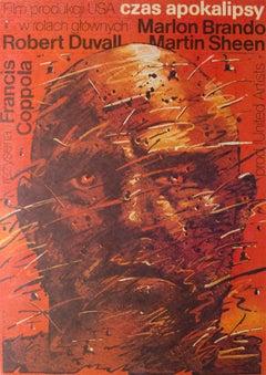 Apocalypse Now Polish Film Movie Poster, 1981, Waldemar Swierzy